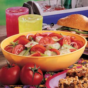 Make Ahead Vegetable Salad Recipe