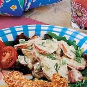 Creamy Dilled Potato Salad Recipe