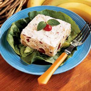 Frozen Cranberry Banana Salad Recipe
