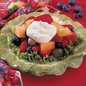Buttermilk Fruit Topping Recipe
