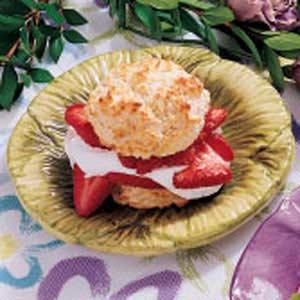 Biscuit Strawberry Shortcake Recipe