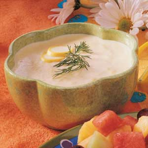 Summer Squash Soup Recipe