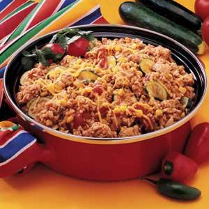 Fiesta Skillet Dinner Recipe