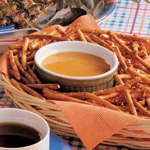 Hot Mustard Pretzel Dip Recipe