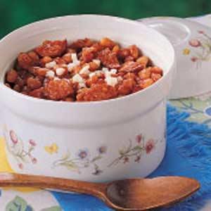 Michigan Beans and Sausage Casserole Recipe