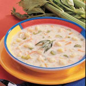 Winning Cream of Cauliflower Soup Recipe