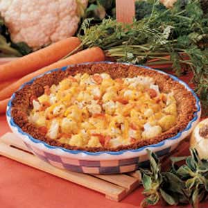 Savory Cauliflower Pie Recipe