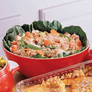 Teriyaki Barley Salad Recipe