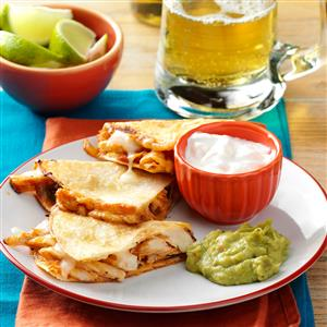 Chicken Quesadillas Recipe