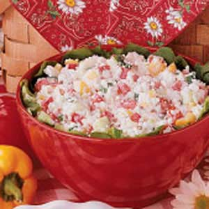 Confetti Cottage Salad Recipe