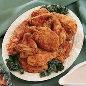 Buttermilk Fried Chicken with Gravy Recipe
