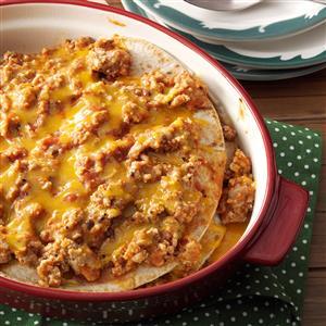 Turkey Enchilada Stack Recipe