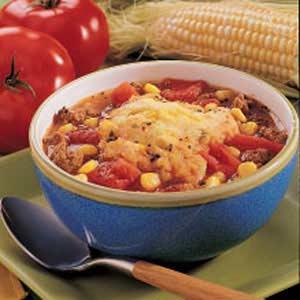 Corny Tomato Dumpling Soup Recipe