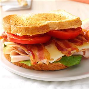Chipotle Turkey Club Sandwich Recipe