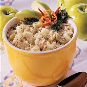 Sauerkraut Apple Salad Recipe