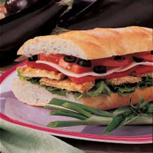 Special Eggplant Subs