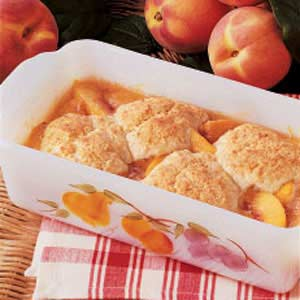 Peach Cobbler for Two Recipe