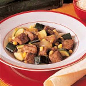Zucchini con Carne Recipe