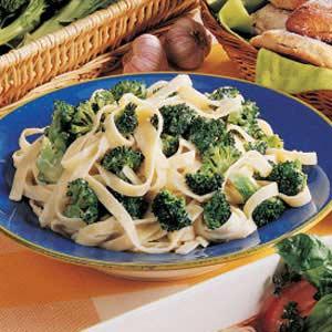 Broccoli Fettuccine Alfredo Recipe