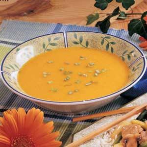 Apricot Squash Soup Recipe