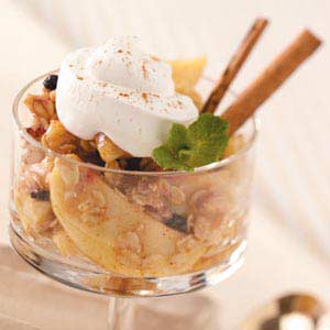 Apple Granola Dessert Recipe
