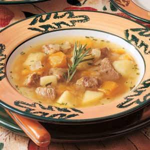 Autumn Pork Stew Recipe