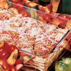 Fried Green Tomato Lasagna Recipe