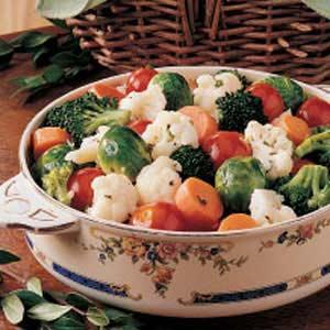 Lemony Marinated Vegetables Recipe