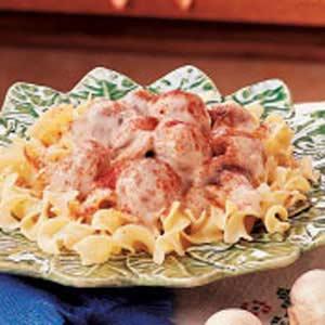 Beef Stroganoff Meatballs Recipe