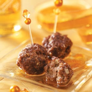Sweet 'n' Soy Snack Meatballs Recipe