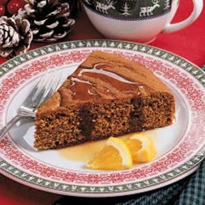 Gingerbread with Brown Sugar Sauce Recipe