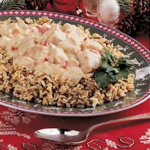 Creamed Turkey over Rice Recipe