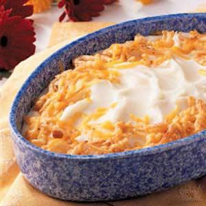 Cheese and Potato Casserole Recipe