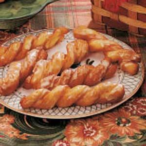 Orange-Glazed Crullers Recipe