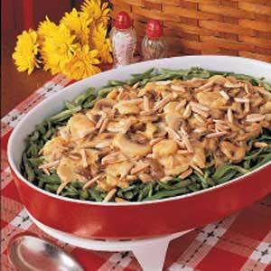 Mushroom Green Bean Casserole Recipe