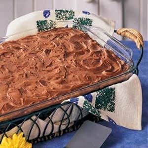 Mom's Chocolate Cake Recipe