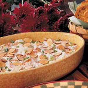 Toasted Almond Crab Dip Recipe