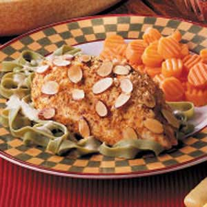 Baked Almond Chicken Breasts Recipe