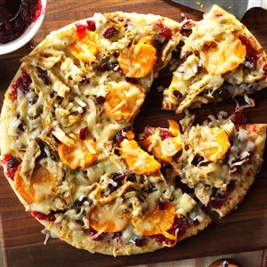 Thanksgiving Lover's Pizza Recipe