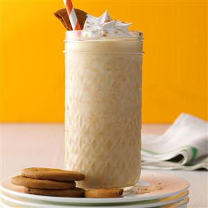 Spiced Pumpkin Coffee Shakes Recipe