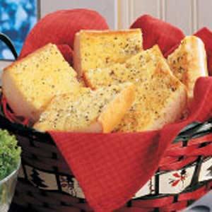 Golden Garlic Bread Recipe
