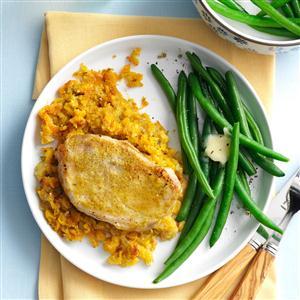 Golden Pork Chops Recipe