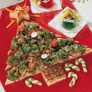 Party Sandwich Tree Recipe