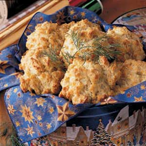 Flaky Dill Biscuits Recipe