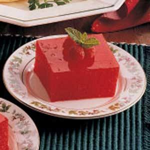 Applesauce Gelatin Squares