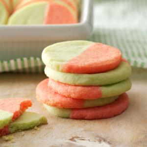 Two-Tone Butter Cookies Recipe