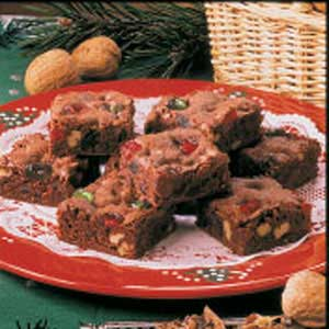 Holiday Brownies Recipe