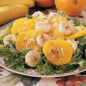 Orange Banana Salad Recipe