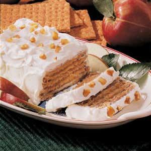 Apple Graham Dessert Recipe