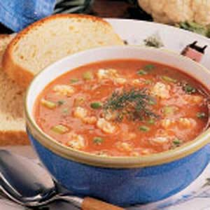 Cauliflower Tomato Soup Recipe